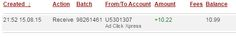 ADCLICKXPRESS – ACX IS AWESOME AND HERE IS MY PAYMENT NR.9! NO SCAM HERE!! I am setting my proof withdrawal from the money I earned at ACX Making my daily earnings is fun, and makes it a very profitable! Work from home at ACX. http://www.adclickxpress.com/?r=eh6qw6keb3ja&p=aa