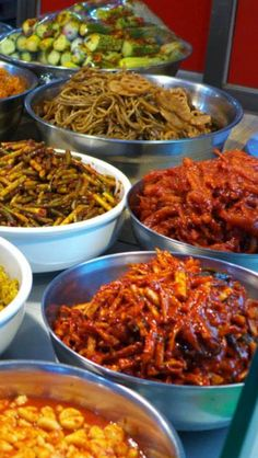 Banchan - 반찬 - Korean Side Dishes