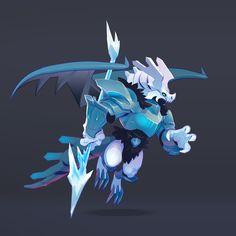 Concept art for Dragon High Winter from game Dragon City. Wallpaper Tumblr Lockscreen, Frost, Concept Art, Character Design, Creatures, Illustrations, Winter, Artwork, Anime