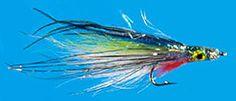 Bait Fish Flies, Epoxy Heads Anchovy by Mark Stensland