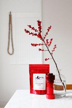 Helsinki based Kaffa Roastery's Christmas Coffee styled by  Helsinki based stylist Varpunen