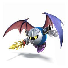 Fangirl Review: Smash Bros: Meta Knight Announced
