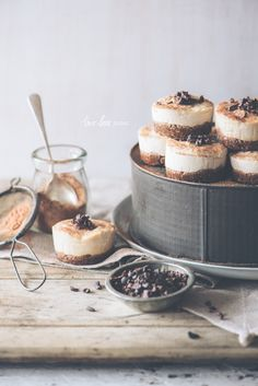 When The Shoot Continues...Raw Peanut Butter Cheesecake Tartlets - Two Loves Studio