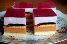 Ulubione ciasto mojej córki... nie wiem czy przez smak czy bardziej przez kolor Sweet Recipes, Jelly, Ale, Cheesecake, Food And Drink, Cookies, Polish, Crack Crackers, Ale Beer