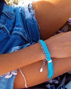 Braided chain bracelet #CraftInspiration