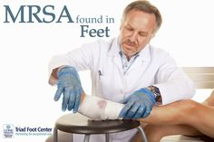 Check out the signs of MRSA in the feet. http://www.triadfoot.com/2016/04/05/potentially-deadly-infection-seen-common-foot-conditions/