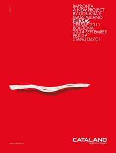 Advertising Catalano, Salone del Mobile 2011, Domus