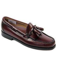 d6db13e3c936 Layton BASS WEEJUNS Mod Tassel Fringe Loafer Shoes
