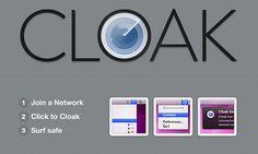 Cloak, una aplicación para Mac que encripta la conexión en áreas públicas