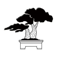 "Style and Apply Bonsai Wall Decal Size: 46"" H x 38"" W, Color: Royal Blue"