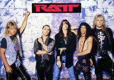 Ratt 1990 Japan Promo Poster Stephen Pearcy Warren DeMartini Bobby Blotzer