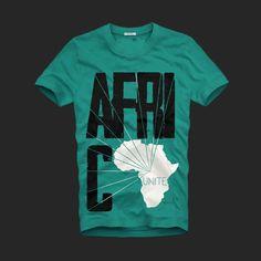 Africa Unite T-Shirts Designs by 3vBoutique