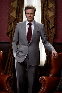 Colin Firth as Mr. A. H. (The man in the grey suit) Alexander
