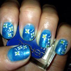 Stamping nail art. Konad M25:)