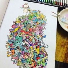 #Repost @yui931128  Follow tag dan mention hasil gambarmu pada kami dan dapatkan kesempatan tutor dengan artist-artist gambar Indonesia. Juga kesempatan menjadi salah satu artist di @sneakypieceproject  A Happiness Project by @sneakypiece  #draw #doodleart #doodleindonesia #doodleadict #doodle #drawing #drawingoftheday #instaartoftheday #instadraw #instaartist #instaartsy #instaarts #instaarthub #instaartistic #instaartwork #fullofdoodleart #art #artgallery #artnews #alterbook #bookart…