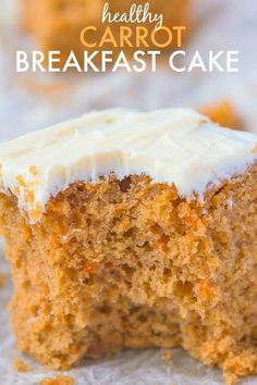 Healthy Flourless Carrot Breakfast Cake- Have cake for breakfast with this delicious, moist and tender breakfast cake without any nasties- No butter, oil, flour or sugar! Perfect for Easter too! {vegan, gluten free, sugar free recipe}- thebigmansworld.com