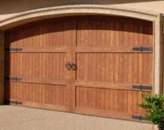 Carriage House Garage Doors  Install a rustic looking carriage house garage door to complement any home or carriage house.