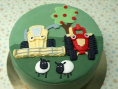 Tractor Tom birthday cake - Brody would love t!!!
