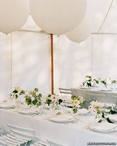 pretty table settings.