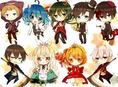 Kagerou Project / Mekakucity Actors Kano / Ene / Kido / Seto / Shintaro / Kuroha / Mary / Momo / Konoha