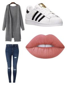"""Untitled #244"" by jamiesowers14 on Polyvore featuring Miss Selfridge, adidas and Lime Crime"