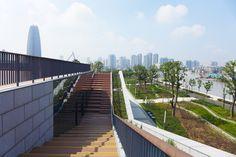 Clube de Tênis Yongjiang / Zhang Jingang