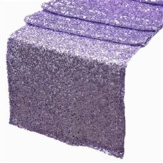 Lavender Sequin Table Runner $11.18 More Colors