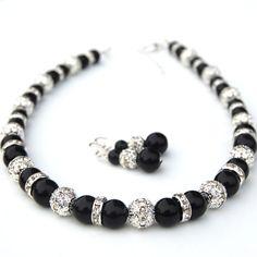 Joyería de Dama de honor perla y diamantes de por AMIdesigns