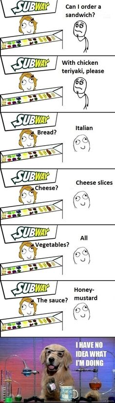 Subway // funny pictures - funny photos - funny images - funny pics - funny quotes - #lol #humor #funnypictures