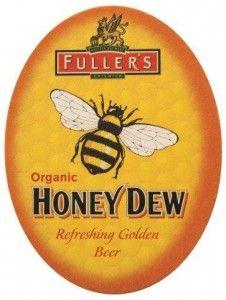 Cerveja Fuller´s Honey Dew bolacha de chopp