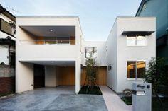 《日本建築Case Studies》建築事務所atelier SPINOZA打造,令人欣羨的二代宅! @ 綠‧建築家 :: searchouse.net