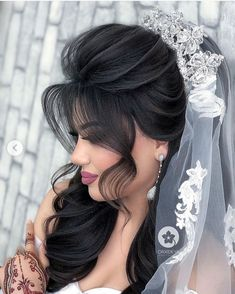 Hairstyles For Gowns, Wedding Bun Hairstyles, Hairdo Wedding, Short Wedding Hair, Wedding Hair And Makeup, Bridal Hair, Medium Hair Styles, Long Hair Styles, Hair Upstyles