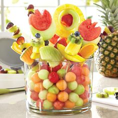 DIY Edible Arrangement