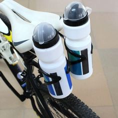 Aluminum Alloy MTB Bike Bicycle Cycling Double Dual Water Bottle Cages Holder Shelf Bicycle Accessories //Price: $15.95 & FREE Shipping //     #hashtag3