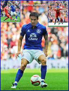 Tim CAHILL Everton FC