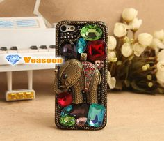 Fashion art 3D iphone 5 cass Classical design Elephant by Veasoon, $35.99