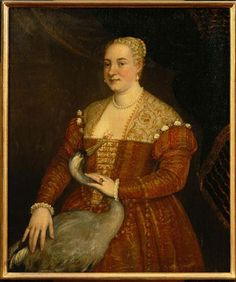 portrait of 'A Woman with a Heron' by the Veronese School.  More pictures of a similar style here.