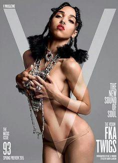 Fka twigs.  Just became a recent fan of her music.  #blackwomen