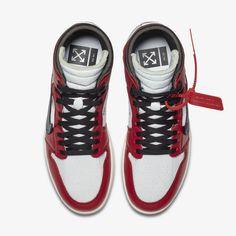 release date: a3cf6 d9265 AA3834-101 Off-White x Nike Air Jordan 1 (5) Jordan 1