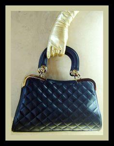 Black Quilted Handbag | Shop 2 Chic