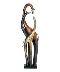 Giraffe Family Figurine