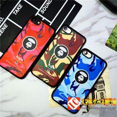 ファッションブランド日本Aapeサル猿迷彩iphone7ケース 7plusソフトカバー 6保護カバー6P