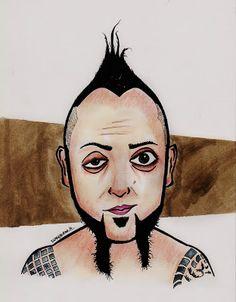 Portre Karikatür: Hayko Cepkin Karikatür