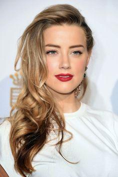 #Hair & #Makeup .#AmberHeard