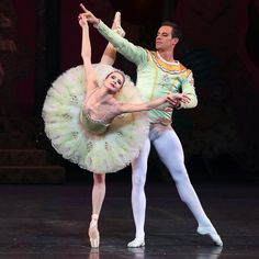 """Sterling Hyltin and Andrew Veyette of New York City Ballet performing in """"George Balanchine's The Nutcracker"""" in 2016. Photo by Andrea Mohin/NY Times"""