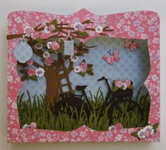 Z Cards, Pop Up Cards, Paper Cards, Greeting Cards, Marianne Design Cards, Box Frames, Vintage Cards, Shadow Box, Cardmaking
