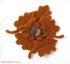 Pattern for Crochet Acorns and Fantastic Ways to Use Them ...