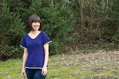 Atalanta by Kristen Hanley Cardozo, knit in Knit Picks Shine Sport