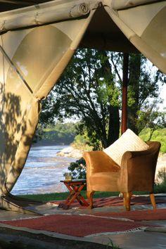 Rekero Tented Camp - Maasai Mara National Reserve, Kenya