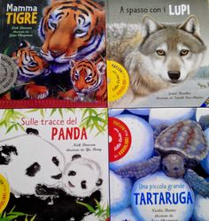 libri 0-3 anni  - collana di libri dedicata agli animali molto particolare